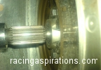 Checking the bearing