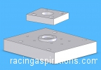 CAD HRB mount and adaptor plate