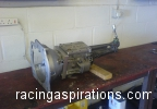 Long gearbox complete front